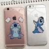 (151-315)เคสมือถือไอโฟน case iphone 5/5s/SE เคสนิ่มใสลายสติชโมโห