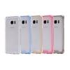 (436-037)เคสมือถือซัมซุง Case Samsung Galaxy S7 Edge เคสอะคริลิคใสขอบสี