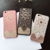 (151-380)เคสมือถือไอโฟน case iphone 6Plus/6S Plus เคสพลาสติกใสลายลูกไม้ Mandala