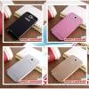 (025-012)เคสมือถือ Samsung Galaxy Note2 เคสโลหะทูโทนฝาหลังอะคริลิค