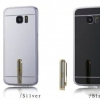 (436-043)เคสมือถือซัมซุง Case Samsung Galaxy S7 Edge เคสนิ่มใสอะคริลิคพื้นหลังแวว