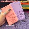 (391-025)เคสมือถือซัมซุงโน๊ต Case Note4 เคสนิ่มสมุดเปิดข้างลายแมวน่ารักๆ DOMI CAT