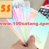 (027-447)ฟิล์มมือถือไอโฟน 5/5s iPhone ฟิล์มกระจกนิรภัย Color Glitter Gradient Tempered Glass Membrane