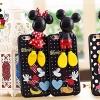 (462-004)เคสมือถือไอโฟน case iphone 5/5s/SE เคสนิ่ม Hello 3D การ์ตูนน่ารักๆ