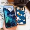 (533-004)เคสมือถือซัมซุงโน๊ต Case Note3 เคสนิ่มอะคริลิคสองชิ้นขอบชุบแวว Blu-ray UV