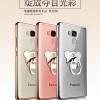 (025-590)เคสมือถือ Case Huawei GR5 เคสนิ่มใสขอบแวว พร้อมแหวนมือถือ