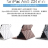 (215-056)เคส iPad 5 (Air) เคสสมุดเปิดข้างลายสก็อต