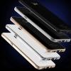 (609-001)เคสมือถือซัมซุง Case Samsung A9 Pro เคสโลหะฝาหลังแววคล้ายกระจกสไตล์ 9H นิรภัย