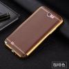 (010-004)เคสมือถือ Samsung Galaxy Note2 เคสนิ่มขอบทองสไตล์หรูหรา