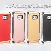 (385-123)เคสมือถือซัมซุง Case Samsung S6 Edge Plus เคสนิ่ม+พื้นหลังชุบแวว Electroplating สไตล์กันกระแทก NX CASE
