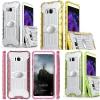 (002-203)เคสมือถือไอโฟน Case Samsung S8+ เคสขอบนิ่มสไตล์กันกระแทกแบบใสแฟชั่น