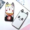 (025-208)เคสมือถือ Case OPPO A59/A59s/F1s เคสนิ่มลาย Lucky Cat