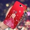 (388-116)เคสมือถือ Samsung Galaxy Note2 เคสนิ่มลายผู้หญิงสวยๆ