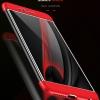 (025-670)เคสมือถือ Case Huawei P9 Lite 2017 เคสคลุมรอบป้องกันขอบด้านบนและด้านล่างสีสันสดใส