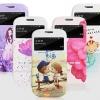 (399-009)เคสมือถือซัมซุง Samsung Galaxy S3 เคสพลาสติกพื้นผิวลายเส้นสวยๆลายน่ารักๆโชว์หน้าจอ