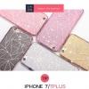 (025-316)เคสมือถือไอโฟน Case iPhone 7 เคสนิ่ม Glitter สไตล์เกาหลี