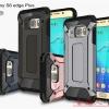 (504-008)เคสมือถือซัมซุง Case Samsung S6 Edge Plus เคสยางพื้นหลังเกราะกันกระแทกพลาสติกสไตล์เทห์ๆ