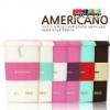 (297-016)เคสมือถือซัมซุงกาแล็คซี่เอส 4 Samsung Galaxy เคสนิ่มถ้วยกาแฟ Americano