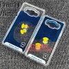 (291-008)เคสมือถือซัมซุง case samsung A5 เคสน้ำพลาสติกใส Rubber Duck