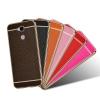 (025-307)เคสมือถือ Case Huawei GR5 เคสนิ่มขอบชุบแววพื้นหลังลายหนัง