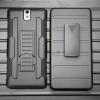 (002-118)เคสมือถือโซนี่ Case Sony Xperia C5 Ultra เคสนิ่ม+พื้นหลังประกบแบบพลาสติก+มีขาตั้ง+ที่เหน็บเอวสไตล์กันกระแทก