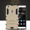 (394-009)เคสมือถือ Case Huawei P8 เคสกันกระแทกขอบนิ่ม Drop Ultimate มีขาตั้งในตัว