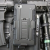 (002-156)เคสมือถือ Case Huawei P8 Lite เคสสไตล์แอดเวนเจอร์กันกระแทกแบบพกพาเหน็บเอว