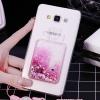 (559-036)เคสมือถือซัมซุง Case Samsung A7 เคสนิ่มใสเพชรคริสตัลขวดน้ำหอมแฟชั่นสวยๆ