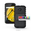 (002-033)เคสมือถือ Motorola Moto E2 เคสกันกระแทกสุดฮิตขอบสี
