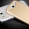 (373-019)เคสมือถือซัมซุง Samsung Galaxy S3 เคสนิ่มฝาหลังโลหะแบบบางสไตล์ 2 ชิ้น