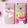 (151-405)เคสมือถือไอโฟน case iphone 6Plus/6S Plus เคสนิ่มใสลาย MyMelody