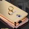 (025-189)เคสมือถือซัมซุงโน๊ต Note3 Neo เคสกรอบโลหะพื้นหลังอะคริลิคเงาแวว