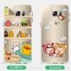 (432-009)เคสมือถือซัมซุง Case Samsung S6 edge plus เคสนิ่มใสแบบบางกันรอยนิ้วมือลายการ์ตูนน่ารักๆ