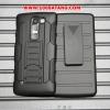 (002-091)เคสมือถือ LG G4c/LG Magna เคสกันกระแทกขอบสีรุ่นเหน็บเอว