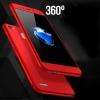 (491-036)เคสมือถือ Case Huawei Enjoy 5s เคสพลาสติกสไตล์กันกระแทก 360 องศาพร้อมหน้าจอกระจกนิรภัย