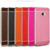 (025-598)เคสมือถือซัมซุง Case Samsung A9 Pro เคสนิ่มขอบทองแฟชั่นสไตล์นักธุรกิจ