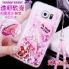 (559-031)เคสมือถือซัมซุง Case Samsung S7 เคสพลาสติกใสทรายดูด Glitter ประดับแหวนโลหะสวยๆ