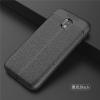 (025-780)เคสมือถือซัมซุง Case Samsung J5 Pro เคสนิ่มซิลิโคนลายหนังสไตส์เรียบหรู