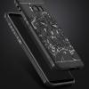 (587-018)เคสมือถือ Case Samsung S8 เคสยางกันกระแทกลายมังกร
