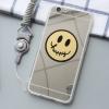 (025-394)เคสมือถือ Case OPPO A59/A59s/F1s เคสพลาสติกขอบใสพื้นหลังแวว Emotion