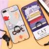 (025-277)เคสมือถือไอโฟน Case iPhone 7 เคสนิ่มลายการ์ตูนเกาหลีน่ารักๆ