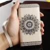 (472-006)เคสมือถือไอโฟน case iphone 6Plus/6S Plus เคสนิ่มสไตล์สมุดเปิดข้างสไตล์วินเทจแอบสแตกอาร์ต