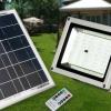 (375-001)รุ่นใหม่ สปอร์ตไลท์พลังงานแสงอาทิตย์โซล่าเซลล์ 40LED