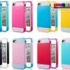 (308-007)เคสมือถือไอโฟน 4/4s Case iPhone เคสทูโทนขอบนิ่ม