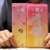 (440-058)เคสมือถือซัมซุง case samsung A7 เคสนิ่มใสทูโทนลายน่ารักๆ
