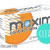 Maxim Clear สำหรับผู้มีสายตาสั้นมาก ๆ -12.50 ถึง -20.00 (แพค 3 คู่ / 6 ชิ้น)