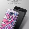 (380-073)เคสมือถือ Asus ZenFone Selfie เคสนิ่มดำลายการ์ตูน กราฟฟิค ยอดฮิต