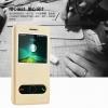 (516-011)เคสมือถือ Case Huawei Honor 4C/ALek 3G Plus (G Play Mini) เคสพลาสติกฝาพับ Pu โชว์หน้าจอแบ็คแกมมอน
