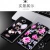 (025-529)เคสมือถือ Case Huawei GR5 เคสกรอบเพชรลายดอกไม้สไตส์ผู้หญิง วัสดุ silica gel