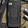 (002-149)เคสมือถือไอโฟน 4/4s Case iPhone เคสสไตล์แอดเวนเจอร์กันกระแทกแบบพกพาเหน็บเอว